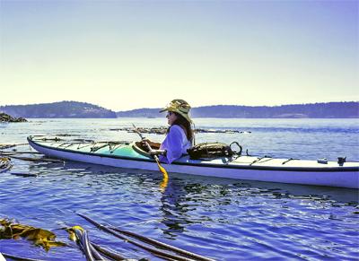 Irene Skyriver paddling