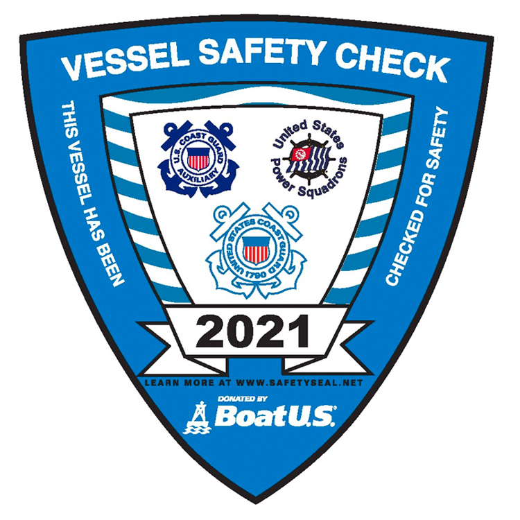 US Coast Guar Vessel Safety Check 2021